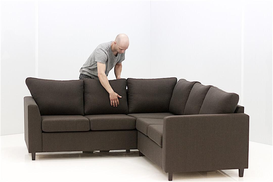 Vekellä on käytössään Pixmoorin kuvausjärjestelmä, jolla saa hetkessä verkkokaupan tuotekuvat suuristakin huonekaluista.