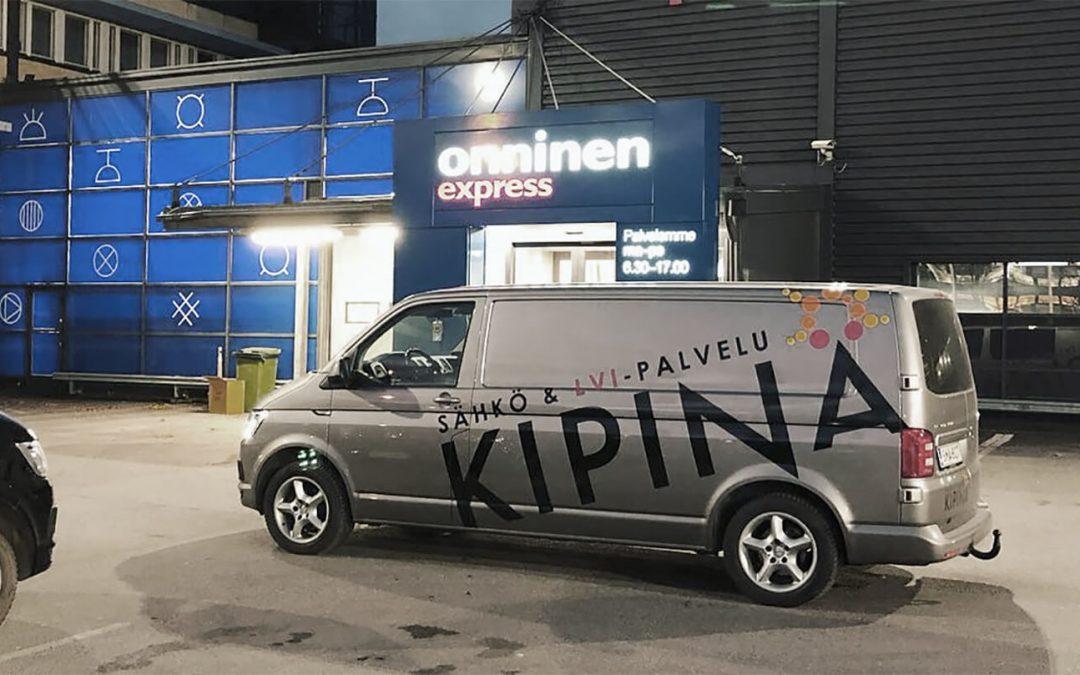 Palvelua 24/7 – Sähkö- & LVI-Palvelu Kipinä